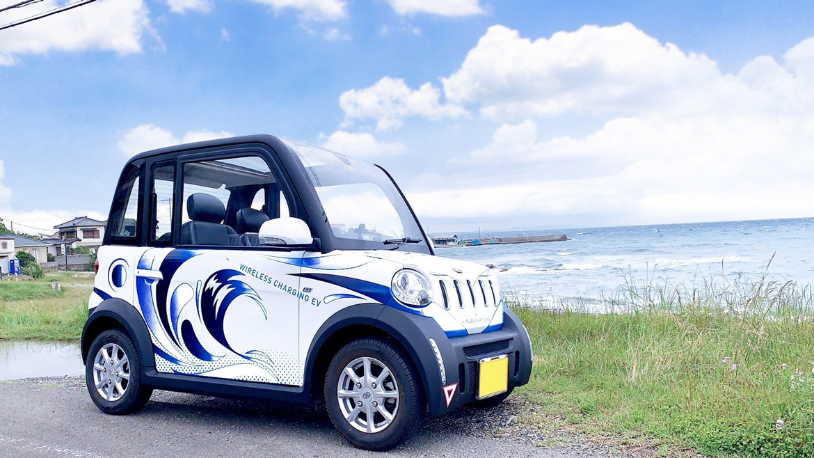 Tajima Ultra Compact Mobility EV adopted for the second demonstration of MaaS business in Tateyama City, Chiba Prefecture by Idemitsu Kosan
